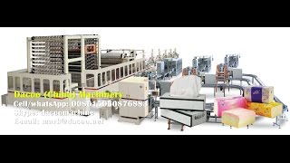 automatic facial tissue paper making machines with packing tz hc pl