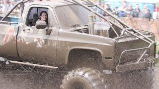 Loud 4x4 Mud Trucks - Spring Mudfest 2016