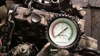 Двигатель D4BH-Y273393 2.5 TCi 105 л.с. Hyundai Galloper – проверка компрессии