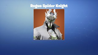Rogue Spider Knight | Leak | Fortnite Outfit/Skin