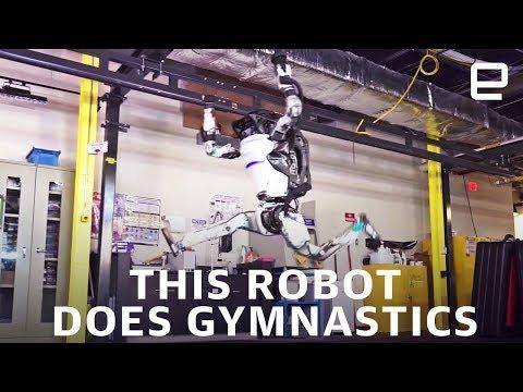 Robot Does Gymnastics