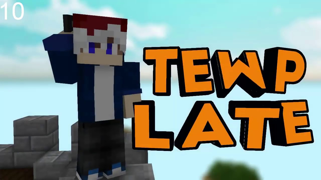 Top 10 Intro Minecraft Template - YouTube