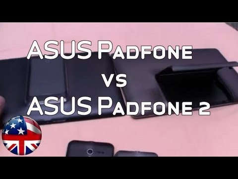 ASUS PadFone 2 Hands On and Comparison with PadFone 1