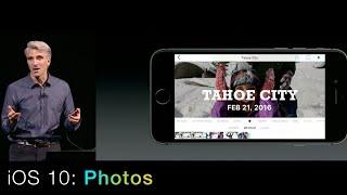 iOS 10: Photos App New Features