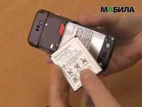 Sony Ericsson W890i - видеообзор