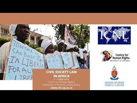 Advanced Human Rights Course: Civil Society Law in Africa 2017