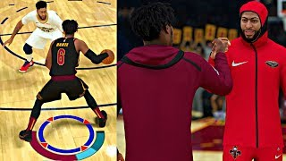 ANTHONY DAVIS AND CAM BECOMES FRIENDS AND RIVALS! CRAZY 6 GOD CROSSOVERS! - NBA 2K19 MyCAREER