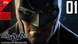 batman Arkham Origins на 100 (HARD)- 01 - Сюжет. Часть 1