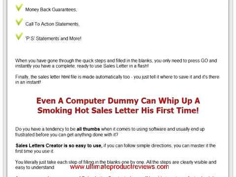 Sales Letters And Its Types In The Managerial Writing Youtube