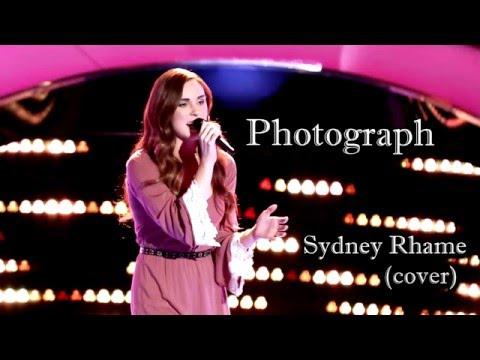 Sydney Rhame - Photograph (Ed Sheeran Cover) Lyric Video