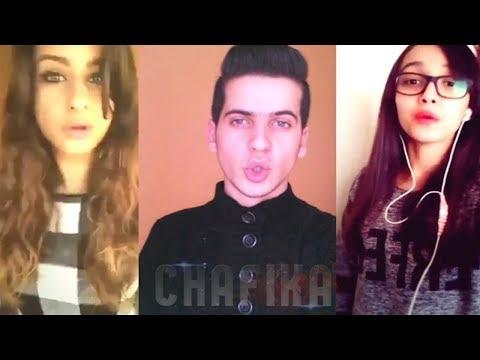 أفضل تقليد لأغنية شفيقة | CHAFIKA - (Jul - Tchikita version Dz) Adel Sweezy | Musically & Dubsmash