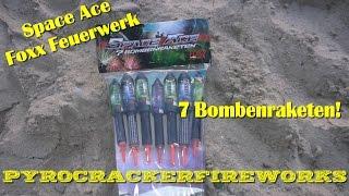 Space Ace Raketensortiment Foxx Feuerwerk - Graal-Müritz 2015 *HD*