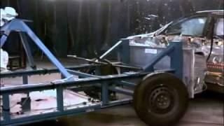 Краш Тест Toyota Camry 2007 (Side Impact Nhtsa)