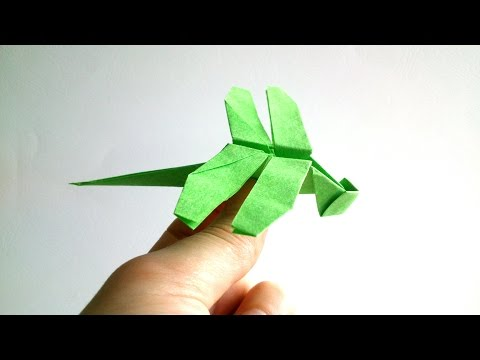 Origami Dragonfly Tutorial