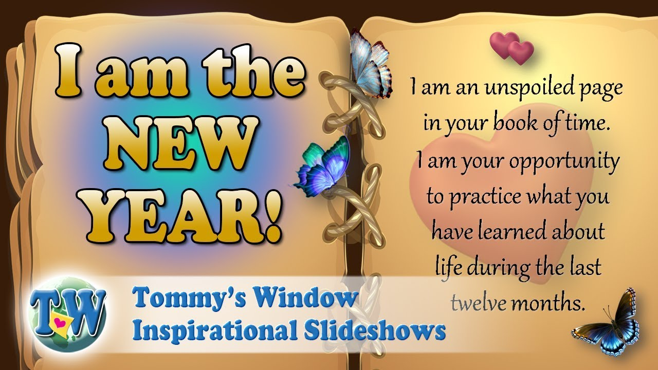 c0106261480cd I am the New Year - Tommy s Window Inspirational Slideshow - YouTube