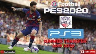 eFootball PES2020 PS3 ProEvo_JG Patch Summer Transfer 19-20