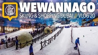 Cost of Visiting Dubai: Skiing, Shopping and Entertainment // Round the World Travel // WeWannaGo TV