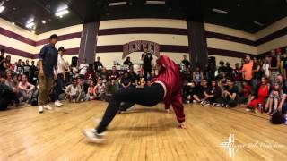 JK47 Vs. Risa & Con (Top 8 B-Girl Battle)(Queenz of Hip-Hop 7th Annual Jam)