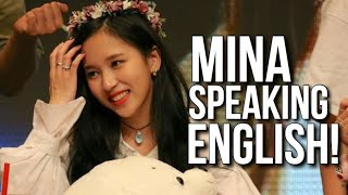 Download lagu Mina speaking English