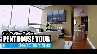 $1.7 Million Dollar Penthouse Tour Of Six Figure Blogger Stefan James Pylarinos