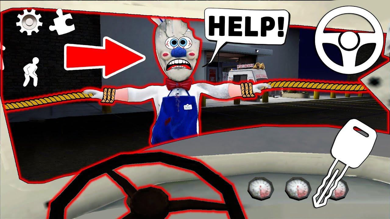 Как Ездить На Машине *Ice Scream* ?! (Сборник лучших серий Ice Scream ч.142)