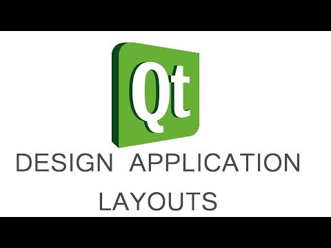 Qt Designer - create application GUI (DESIGN APPLICATION LAYOUT) - part 02
