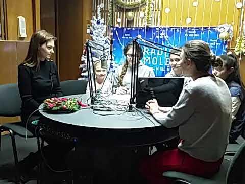 Dragostina Hanganu - Interviu la Radio Moldova 26.12.2017