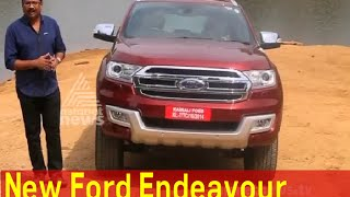 Ford Endeavour Test drive; Features; Price in India | Smart Drive 07 FEB 2016