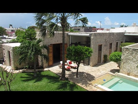 Casablanca Living 3 Bedroom Luxury Property Rental, Merida, Yucatan, Mexico   Daytime Video