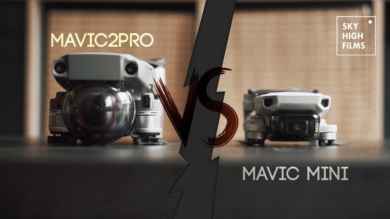 Mavic Mini Vs Mavic 2 Pro Which One Youtube