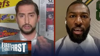 Greg Jennings explains why Drew Brees' comments were a disappointment to many | FIRST THINGS FIRST
