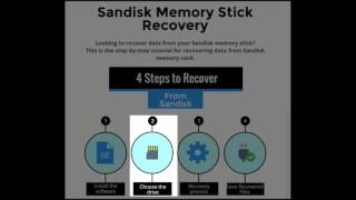 Easy Way to Process Sandisk Memory Stick Recovery