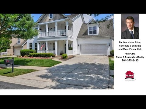 13112 Province Valley Place, Huntersville, NC Presented by Phil Puma.