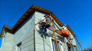 МПС Алматы. Монтаж термопанелей на фасад дома в 172 кв.м. 17.10.2017.(, 2017-10-17T12:21:56.000Z)