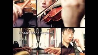 Mozart Piano Quartet In G Minor Acapella App Except