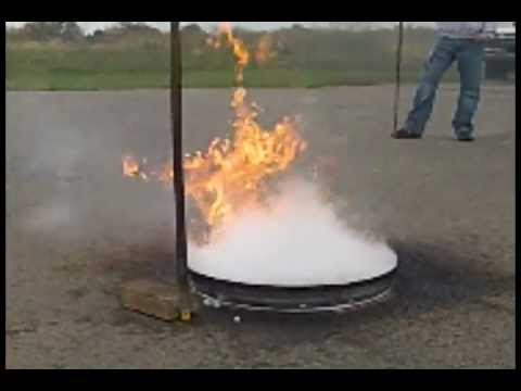pool fire (26 in) extinguishment with Dry ice-rapid application - virtual laboratory