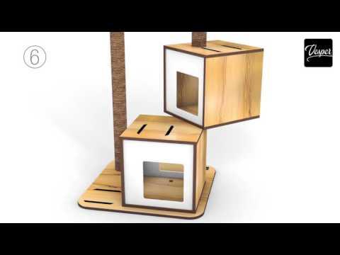 Aufbauanleitung Vesper Design by Catit V Double