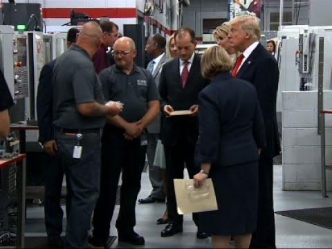 Trump Wants Apprenticeships in All High Schools
