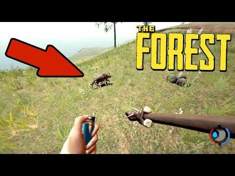 THE FOREST - САМОЕ РЕДКОЕ ЖИВОТНОЕ! ГДЕ НАЙТИ ЕНОТА?