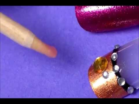 how to make your own rhinestone pen/picker