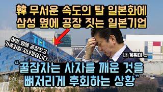 한국의 무서운 속도의 탈일본 속도에 놀란 일본 아사히, 삼성 옆에 공장 짓는 일본 기업, 도쿄일렉트론 평택 공장