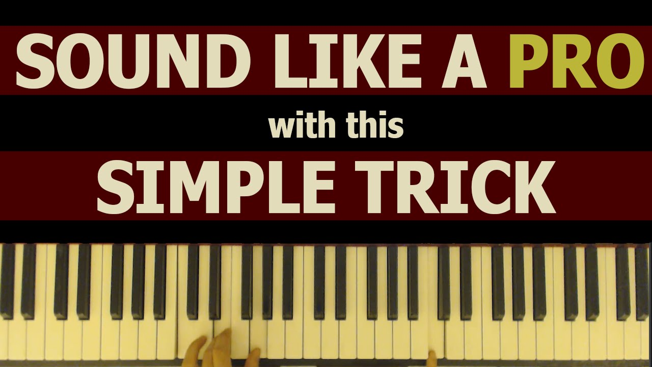 This simple jazz chord voicing will make you sound like a pro! - YouTube