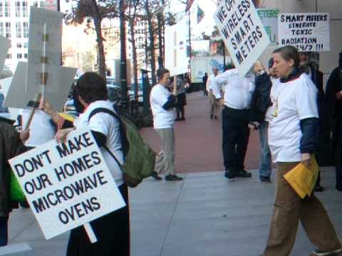 Smart Meter Protest at Pepco