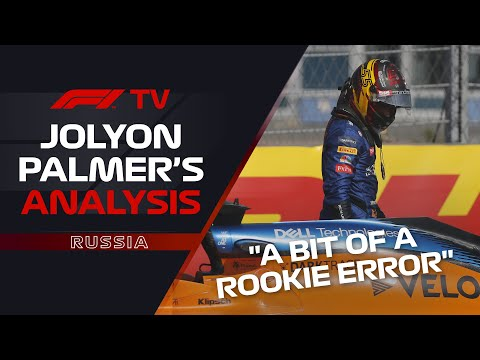 A Closer Look At The Race Start In Sochi   Jolyon Palmer Analysis   2020 Russian Grand Prix