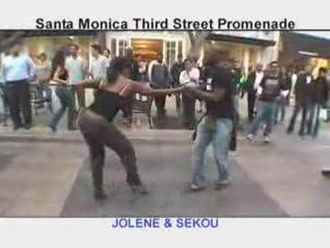MySalsa! @ 3rd St. Promenade: Sekou & Joelene