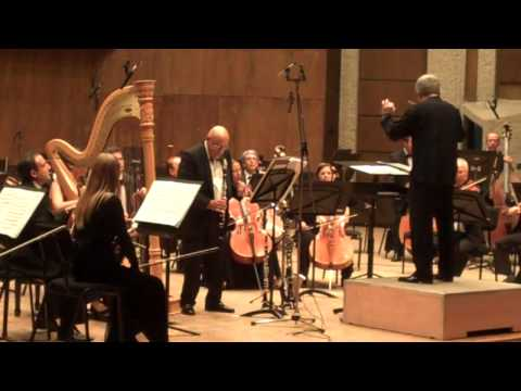 "(3) Peter Breiner: ""If it's true..."" for clarinet, harp & strings"