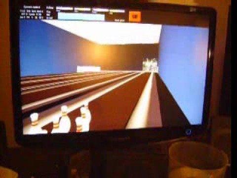OpenGL Bowling test 2