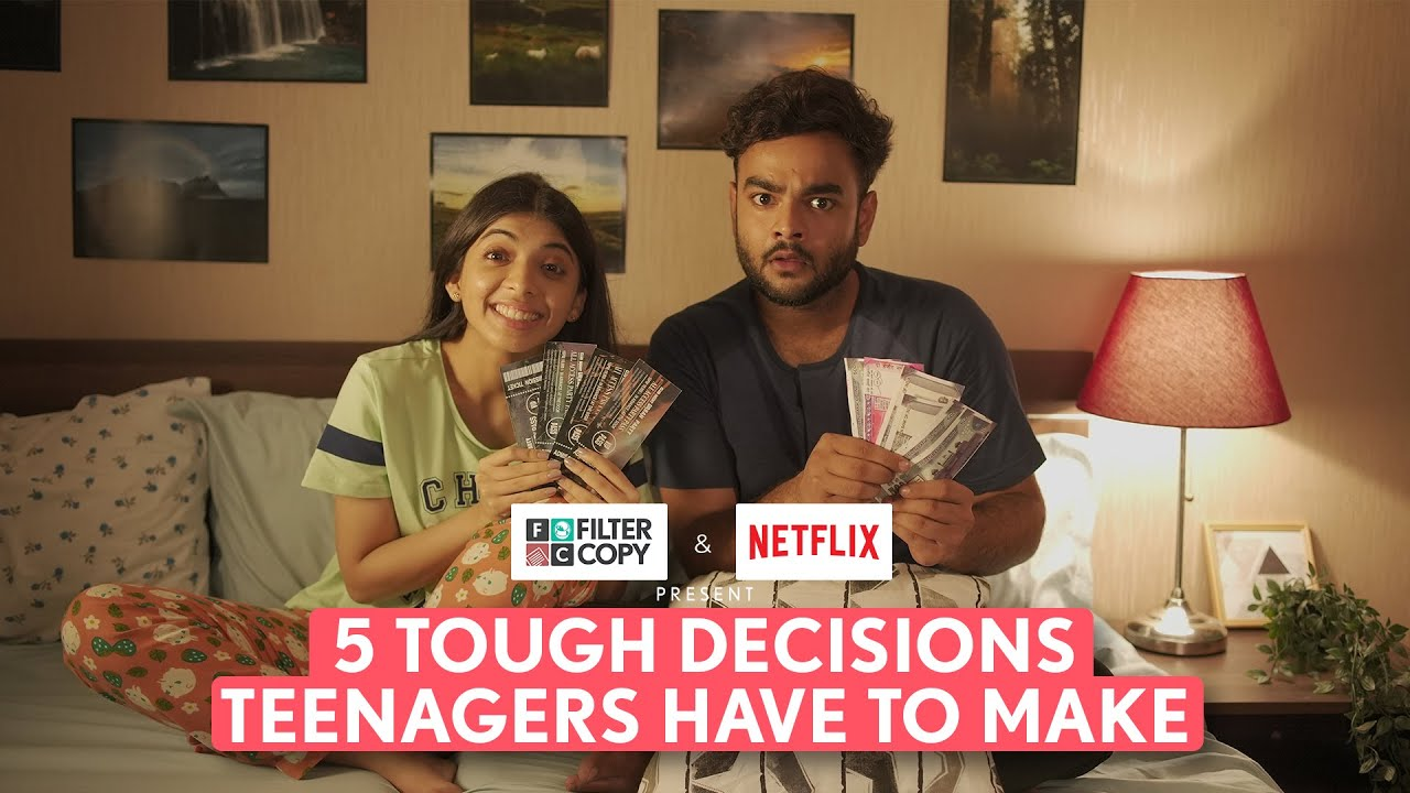 FilterCopy | 5 Tough Decisions Teenagers Have To Make | Ft. Alam Khan & Devishi Madaan
