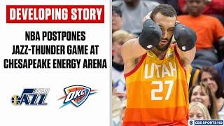 DEVELOPING STORY: NBA postpones Jazz-Thunder game amid coronavirus concerns | CBS Sports HQ