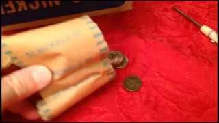 NICKEL JACKPOT! COIN ROLL HUNTING NICKELS #34
